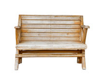 Chair wood Stock Image