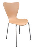 Chair. Wooden chair on white background vector illustration