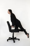 Chair zooming Royalty Free Stock Photography