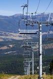 chairlift καλοκαίρι Στοκ Εικόνες