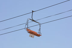 Chairlift σε ένα λούνα παρκ Στοκ Φωτογραφία
