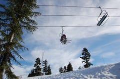 chairlift Zdjęcie Stock
