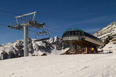 Chairlift Royalty Free Stock Photography