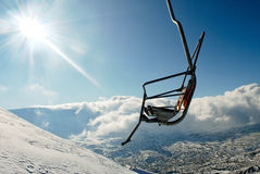 Chairlift Royalty Free Stock Photo