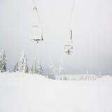 Chairlift Royaltyfri Foto