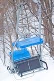 Chairlift arkivfoto