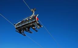 chairlift Royaltyfri Fotografi