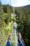 chairlift stockfotos