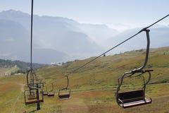 chairlift lizenzfreies stockbild