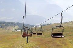 chairlift stockfoto