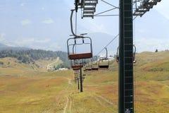 chairlift lizenzfreie stockbilder
