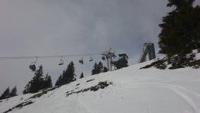 chairlift lizenzfreies stockfoto