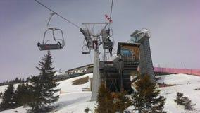 chairlift stockfotografie