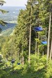 Chairlift Bavaria Alps Obraz Royalty Free