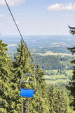 Chairlift Bavaria Alps Fotografia Royalty Free