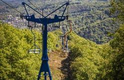Chairlift Boppard, Niemcy Zdjęcie Stock