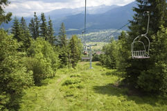 Chairlift Royalty Free Stock Image