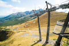 Chairlift Stock Photography