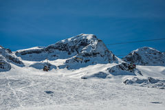 Chairlift from Formigal. Stock Photo