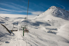 Free Chairlift From Formigal. Stock Photos - 73073393