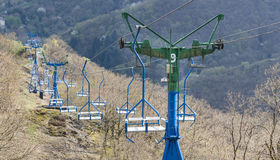 chairlift gideonseck boppard germany Stock Photos