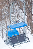 Chairlift stock photo