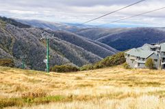 Chairlift - Hotham Heights Royalty Free Stock Photos