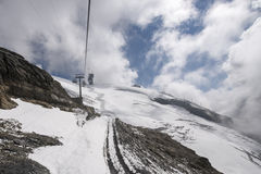 Chairlift Ice Flyer, Mount Titlis Royalty Free Stock Image