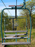 Chairlift In Offseason Stock Photography