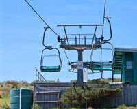 Chairlift machinery Stock Photography