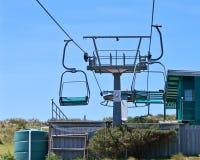 Chairlift machinery. At Stanley, Tasmania, Australia Stock Photography