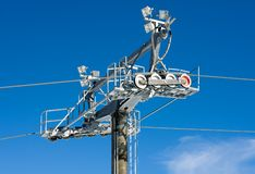 Chairlift Mechanism Royalty Free Stock Photos