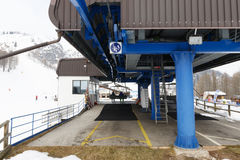 Chairlift Molino - Le Buse Stock Images
