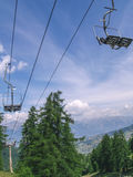 Chairlift, Mountain Resort Stock Photography