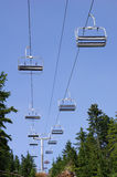 Chairlift Royalty Free Stock Images