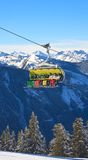Chairlift. Ski resort Schladming . Austria Stock Photos