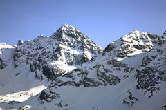 Chairlift in Tatra Mountains near Zakopane. Poland Royalty Free Stock Image