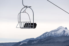 Chairlift in Tatra mountains. Chairlift in the Polish Tatra mountains Royalty Free Stock Image