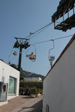 Chairlift to Monte Solaro, Anacapri Stock Images
