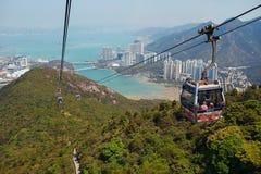 Chairlifts επάνω από τα βουνά στοκ εικόνες με δικαίωμα ελεύθερης χρήσης