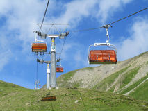 chairlifts Obraz Stock