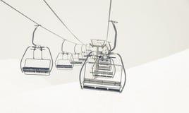 chairlifts stockbild