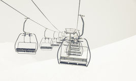 Chairlifts Stock Image