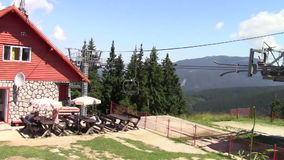 Chairlifts stock footage