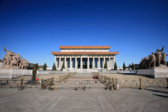 Chairman MAO memorial hall Royalty Free Stock Image