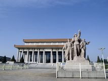 The Chairman Mao Memorial Hall Stock Photos