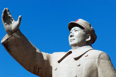 Chairman Mao's Statue. A Statue of China's former Chairman Mao Zedong in the city of Kashgar, China Stock Image