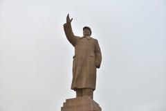 Chairman MAO sculpture Stock Photos