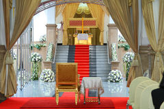 Chairman's seat in the cremation ceremony Royalty Free Stock Photos