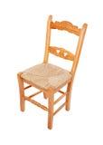 Chairo di legno della casa Fotografie Stock